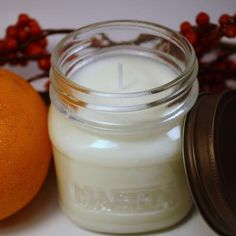 Blood Orange and Gogi Berries Soy Candle