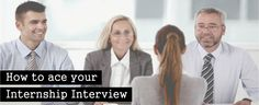 How to ace your Internship Interview #Interview #ace #Internship #Jobs #Points #Confidence #Dress #EduConnect