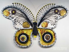 sculpture by Michelle Stitzlein. What this woman does with found objects is just amazing and beautiful!