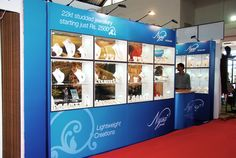 Exhibition Stall for Nysa Jewellers. Reach us at  http://www.expodisplayservice.ae/contactus.asp