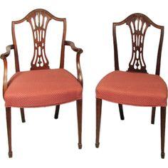 Hepplewhite dining chair