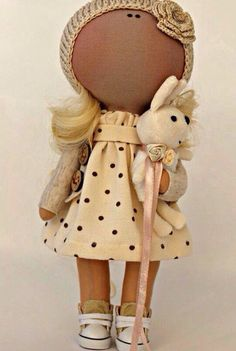 Простая кукла<br>#Игрушки #Своимируками #Кукла