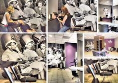 Photo wallpaper / Foto behang kapsalon Into Hair Nieuw Vennep - BN Wallcoverings