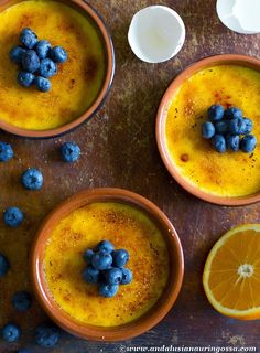 Crema Catalana al Naranja - orangey, creamy piece of dessert heaven from Spain