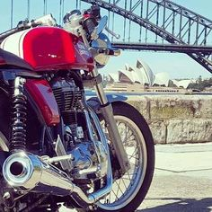 Royal Enfield Continental GT Cafe Racer review by local Sydney Australia rider