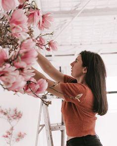 Blue Mountain, Magnolia, Floral Design, Feminine, Romantic, Flowers, Women's, Magnolias, Floral Patterns