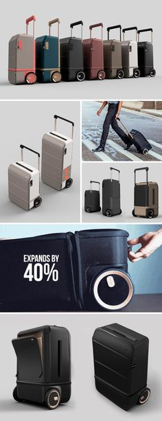 We've seen bags/luggages expanding to allow extra storage, but nothing quite like this. The XTEND's suitcase literally shrinks vertically in size to meet carry-on dimension requirements, and then expands (when you need to) for when you want a large bag to check-in. The XTEND does this using a collapsible inner 'belt' or zone, that when opened out, makes the bag up to 40% larger. Buy Now!