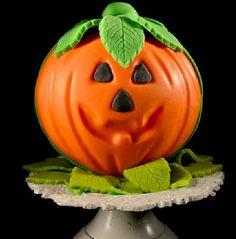 Halloween Decorated Pumpkin: candy