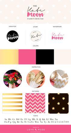 Branding Board | Custom Brand Identity Package | Branding business pack | Logo Design | Business Card, Watermark, Pattern, Stamp, by LoveandMuse on Etsy https://www.etsy.com/listing/208406127/branding-board-custom-brand-identity