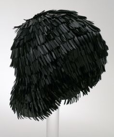 Woman's Bathing Cap U.S. Rubber (United States, 20th century) Great Britain, 1960s Costumes; Accessories Rubber 8 x 7 1/2 in. (20.32 x 19.05 cm) Gift of Lola Suter (AC1995.30.5) Costume and Textiles