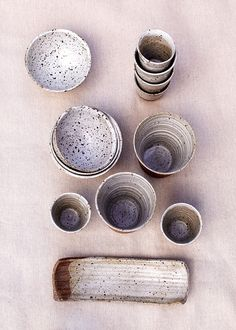 love this natural colored pottery, ceramics