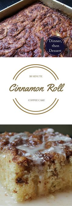 Cinnamon Roll Coffee Cake, A perfect Mother's Day Brunch