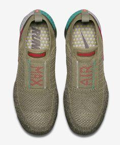 "Nike Air VaporMax Flyknit Moc 2 ""Neutral Olive/Habanero Red"" - EU Kicks: Sneaker Magazine"