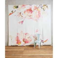 Discover unique wallpaper at Anthropologie, from printed wallpaper to floral wallpaper and more. Unique Wallpaper, Home Wallpaper, Wallpaper Ideas, Wall Murals, Wall Art, Arte Floral, Wall Treatments, Decoration, Diy Home Decor