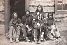 Arapaho group. 1867. Photo by William Stinson Soule