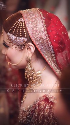 Punjabi Bride, Pakistani Bridal, Bridal Photoshoot, Beautiful Bride, Brides, Boards, Romantic, Couture, Jewellery