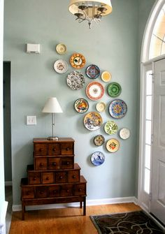Driven By Décor: Designing a Decorative Plate Wall