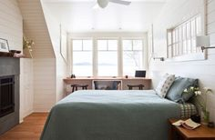 Small Bedroom Ideas: Inspiration For the Modern Home. Cool Scandinavian style seems appropriate for compact attic bedrooms