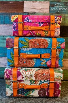 Vibrant Colors - Luggage
