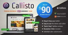 Download and review of Callisto WooCommerce — Premium Responsive Theme, one of the best Themeforest eCommerces themes