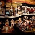 Pub le St-Georges, Acrylique, 30X40'', 2013, VENDU