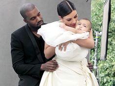 Kim Kardashian, Kanye West and Nori: See the Vogue Pics!