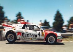 "MSport Girl  on Twitter: ""Antonio Zanini - Josep Autet. 22th Rally Catalunya 1986. Ford RS200.… """