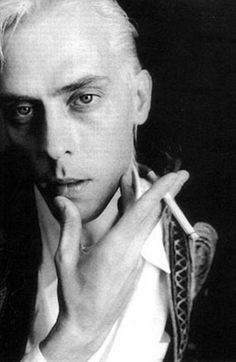 """Peter Murphy. Lead singer of Bauhaus, Peter went on to have a great solo career in the late 80s and early 90s. """"Deep"""" is a fabulous album."""