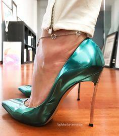"326 Likes, 2 Comments - Annshoe (@annshoe) on Instagram: ""New edit for my love @bplaka ❤️ #casadei #jeanpumps #stilettos #fashion #fashionaddict #iloveshoes…"""