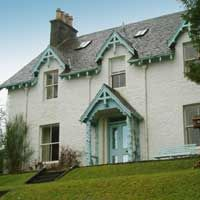 Elegant house in the centre of Pitlochry, Perthshire