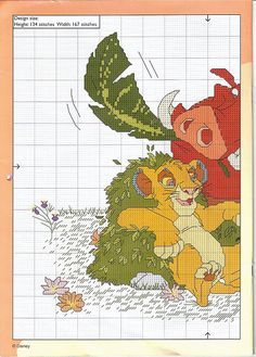 Disney Cross Stitch Calendar 2003 - 003 | Flickr - Photo Sharing!
