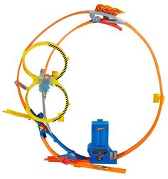 Hot Wheels Super Loop Chase Race Track Set Cars Toy Speed Racing Play Vehicles  #HotWheels