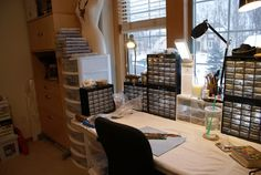 YaY! Jewelry: A Glimpse Into My Jewelry Studio - On a Clean Day