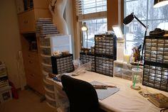 YaY! Jewelry: A Glimpse Into My Jewelry Studio - On a Clean Day