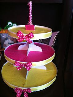 Simply Inspired: Handmade Crafts: Ella's Minnie Mouse 1st Birthday Party!