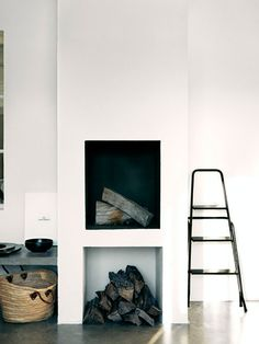 Fire place and ladder | Jonas Ingerstedt
