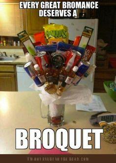 (good idea for groomsmen gift ''baskets''!)