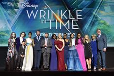 Rowan Blanchard Levi Miller Photos - (L-R) Actors Rowan Blanchard, Levi Miller, Deric McCabe, Gugu Mbatha-Raw, Chris Pine, Zach Galifianakis, Mindy Kaling, Reese Witherspoon, Oprah Winfrey, Storm Reid, Director Ava DuVernay, Screenwriter Jennifer Lee, Producers Catherine Hand and Jim Whitaker onstage at the world premiere of Disney's 'A Wrinkle in Time' at the El Capitan Theatre in Hollywood CA, March 26, 2018. - Rowan Blanchard and Levi Miller Photos - 6 of 15