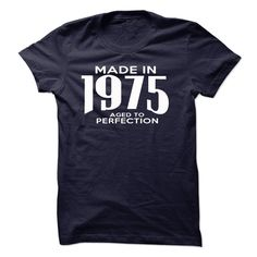 Made In 1975. Aged To Perfection Tee