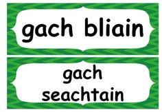 Gaeilge Aimsir Láithreach (Present Tense rules/endings Full Poster set) Tenses Rules, Gaelic Words, Ireland Uk, Irish Language, Syllable, Grammar, Posters, Teaching, Activities