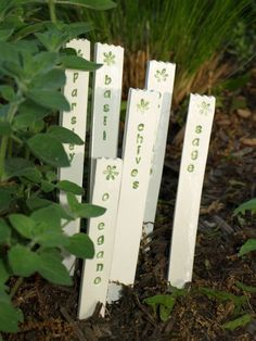 Herb Markers