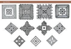 madhubani painting motifs - Google Search