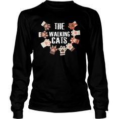 THE WALKING #CATS T SHIRT FUNNY TEE, Order HERE ==> https://www.sunfrog.com/TV-Shows/125699918-735875490.html?49095, Please tag & share with your friends who would love it, #jeepsafari #renegadelife #superbowl