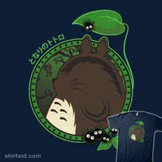 """Forest Spirit Neighbor"" by fishbiscuit My favorite neighbor - Totoro."