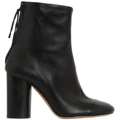 ISABEL MARANT 90mm Grover Leather Ankle Boots