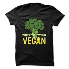 (Top Tshirt Choice) Non-Judgemental Vegan T-Shirt [Guys Tee, Lady Tee][Tshirt Best Selling] Hoodies, Funny Tee Shirts