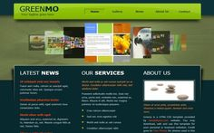 CSS website Templates - Green Nature CSS Template Download #css #csstemplates #nature
