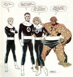 Fantastic Four by John Byrne
