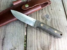 The Woodsman Pro is a great woods knife. A hunting knife, a bushcrafting knife, a utility knife, it can handle most tasks with ease. #USA #Knives via BuyDirectUSA.com
