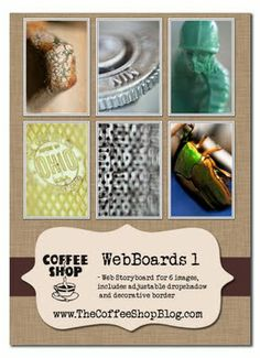 Free CoffeeShop storyboard and frame templates and actions